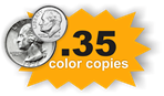 .35 Color Copies